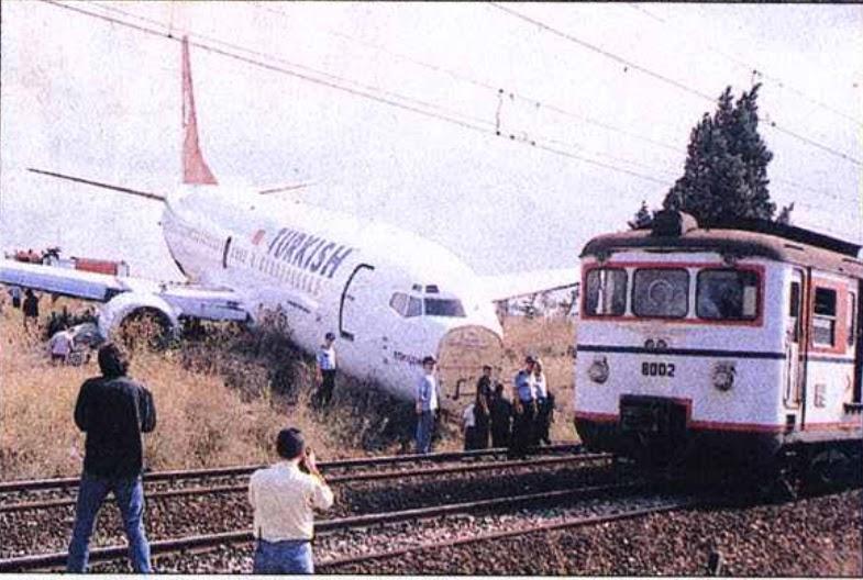 Tren Yoluna Girip Trene Çarpmasına Ramak Kalan THY Yolcu Uçağının Sizi Çok Şaşırtacak İlginç Hikayesi