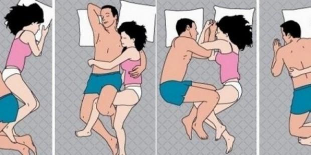 Uyku Pozisyonunuz İlişkinizi Anlatıyor ( Uyku pozisyonları )