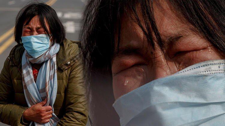 Koronavirüsün vurduğu Çin'den yürek yakan ağlatan görüntüler