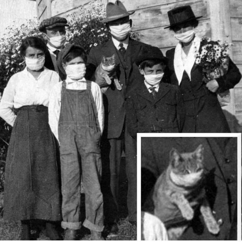 1918'de Dünya'yı kasıp kavuran grip salgınından fotoğraflar.
