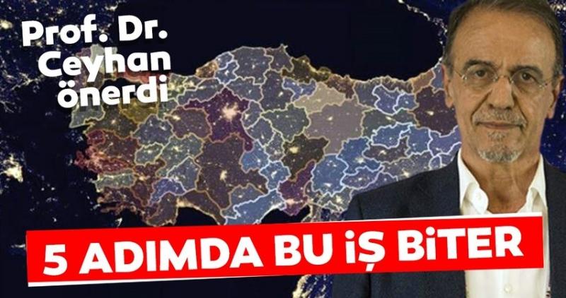 Prof. Dr. Mehmet Ceyhan 5 Adımda Bu iş Biter Dedi Ve Ekledi