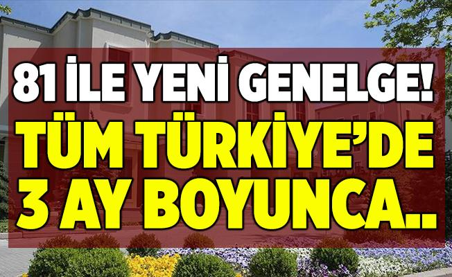 İçişleri Bakanlığı'ndan flaş koronavirüs genelgesi! Tüm Türkiye'de 3 ay boyunca ertelendi!