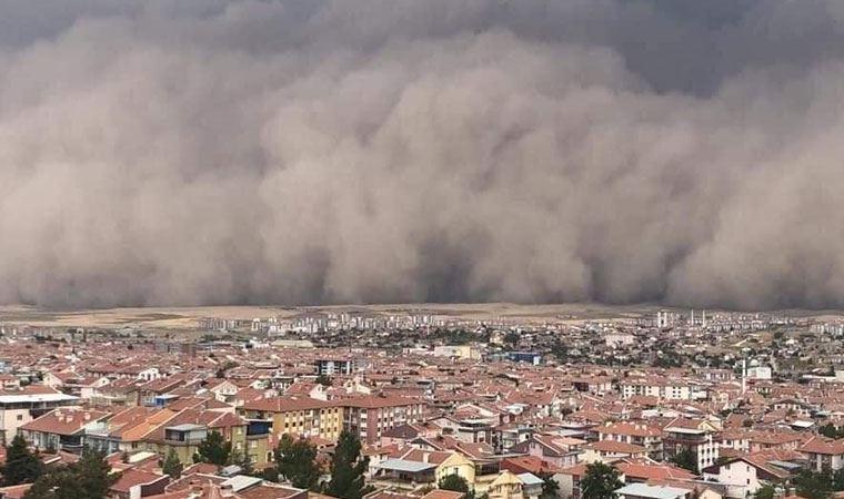 Bu Bölgelerde Yaşayanlar Dikkat! Toz fırtınası uyarısı: Kesinlikle evden çıkmayın!