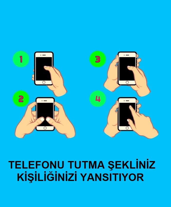 Telefon Tutma Şekliniz Kişiliğiniz Hakkında Bilgi Veriyor