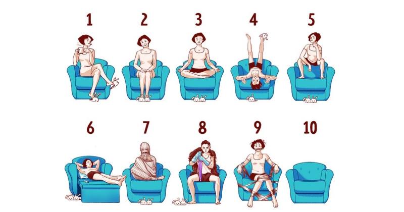 Favori Oturma Pozisyonunuz, NASIL BİRİ OLDUĞUNUZU ORTAYA ÇIKARIYOR