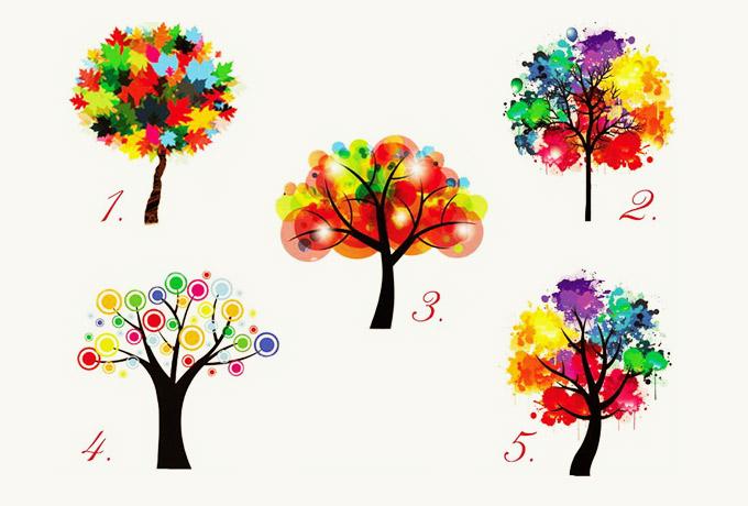 Sadece bir ağaç seçerek kendinizle ilgili ilginç ayrıntıları öğrenin!