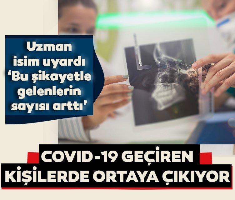 Bu şikayetle gelenlerin sayısı arttı' diyerek uyardı! Kovid-19 geçiren kişilerde bu sorun görülüyor!