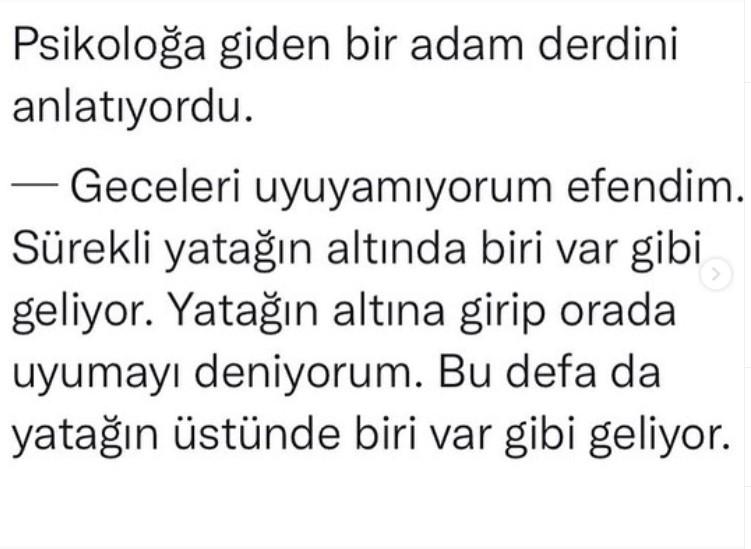 ADAMIN BİRİSİ PSİKOLOGA GİDER
