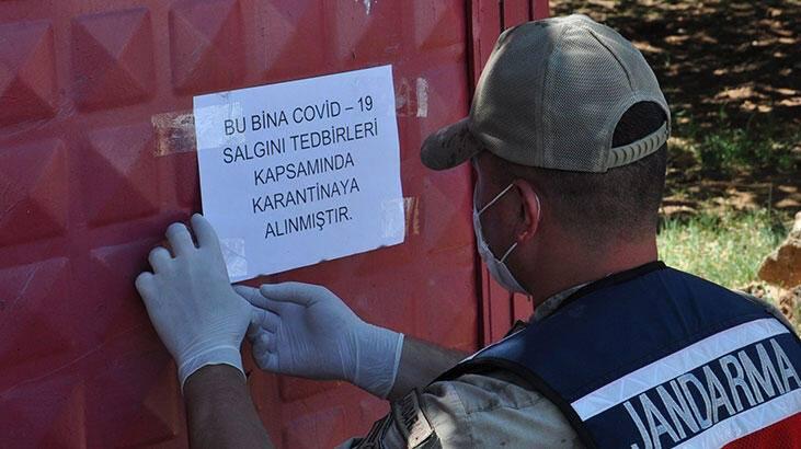11 kişide virüs tespit edildi, 530 kişi ev karantinasına alındı