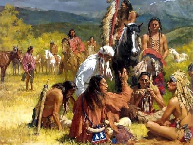 1956  yıllarında biz Türküz diyen Kızılderililer