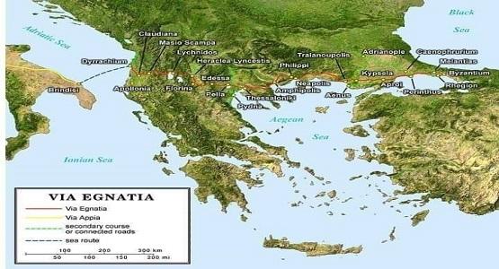 Balkanlar'ın en tarihi yolu Via Egnatia...