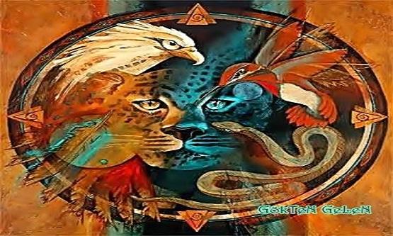 Bir Şaman öğretisi şöyle der: