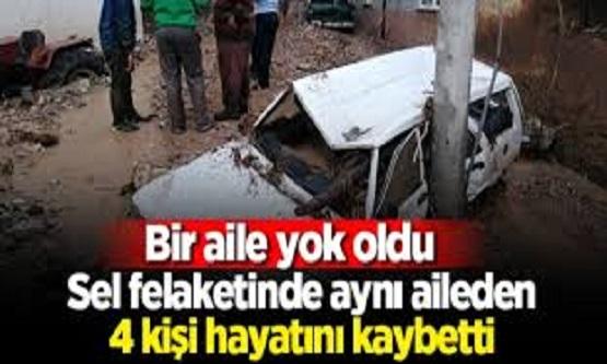 Bursa'daki Sel Felaketi Bir Aileyi Yok Etti. Cenazeler Bu Halde Bulundu. Acı Detaylar Ortaya Çıktı