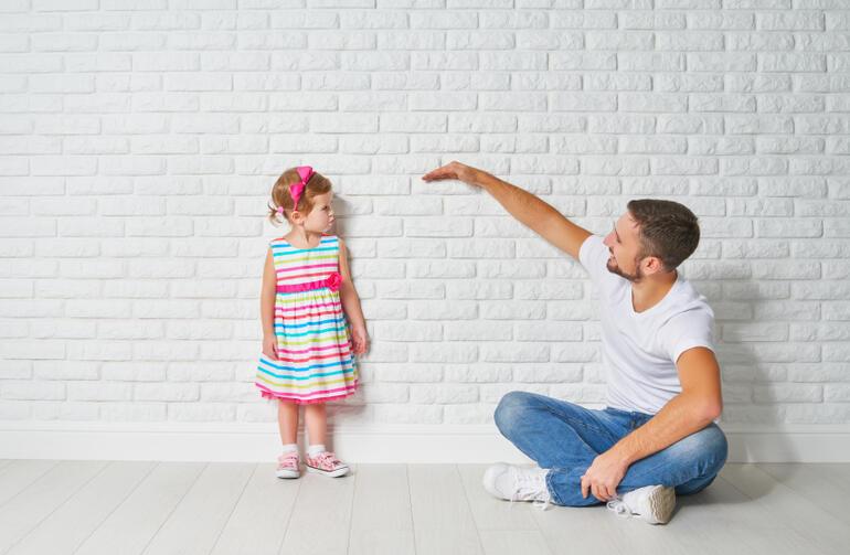 Çocuğunuzun boyu size bağlı