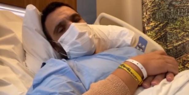 Coranaya Yakalanan Ünlü Sanatçı Hastane Odasında Gözyaşlarına Boğularak Video Çekti Ve
