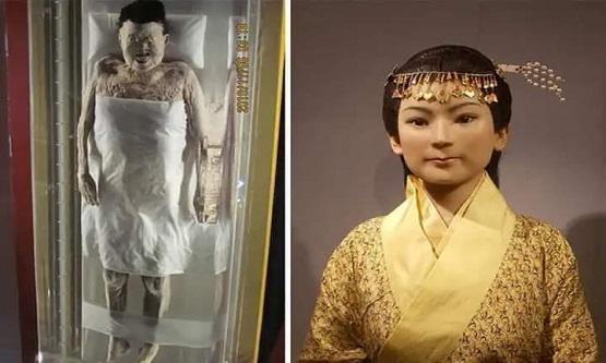 Damarlarında kan bulunan 2.000 yıllık ceset