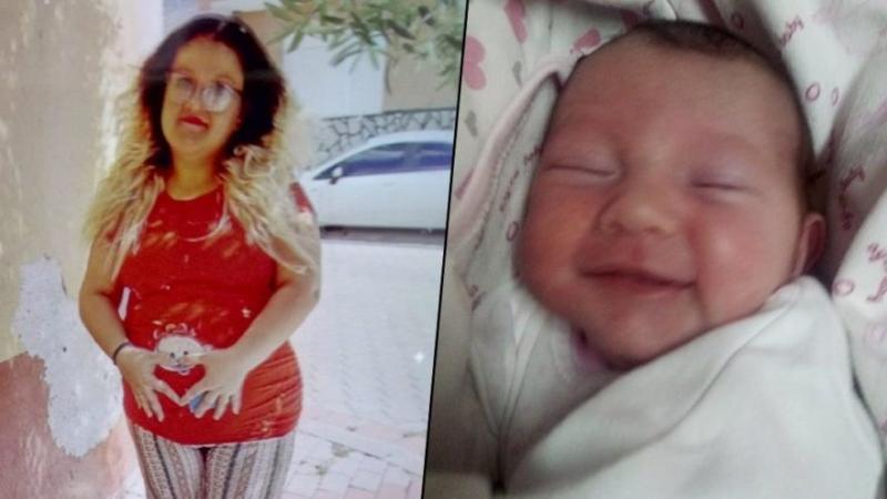 Doğumuna 10 gün kala coronaya yakalandı, yoğun bakımda hayatını kaybetti.  Yağmur annesiz kaldı