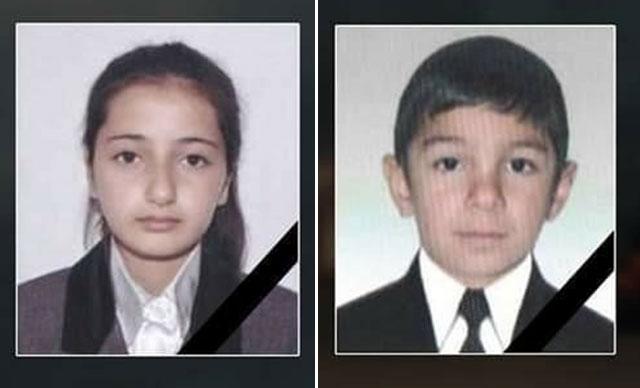 Ermenistan'ın saldırısı sonucu okul öğrencileri şehit oldu