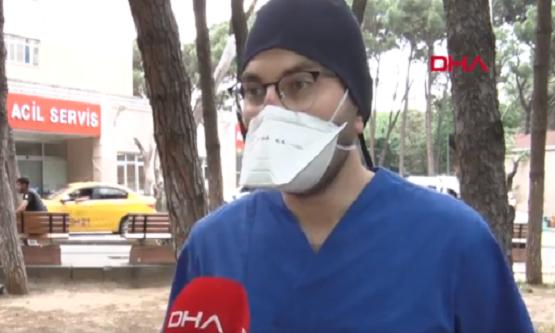 Genç Doktor Virüse Yakalandı Ve Tomografi Görüntülerini Paylaştı. 10 Günde 8 Kilo Verdi Ve Uyardı