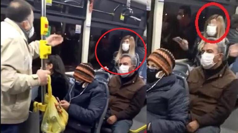 Halk otobüsünde şoke eden olay: Korona olduğunu otobüste ağzından kaçırınca...