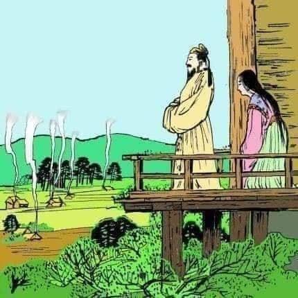 Japonya'da 4. yüzyılın sonlarına doğru tahta oturan İmparator Nintoku, yüksek bir kuleye çıkar ve ülkesine bakar.