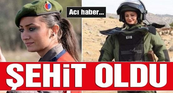 Kadın bomba imha uzmanı Astsubay Esma Çevik şehit oldu!