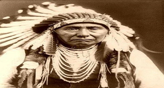 Lakota chief Crayz horse Siyuların şefi çılgın at