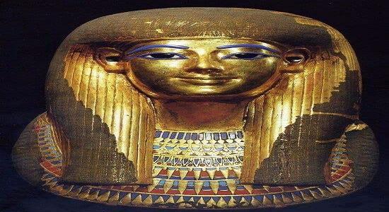 Leydi Tjuyu'nun Mezar Kapağı (maskesi)