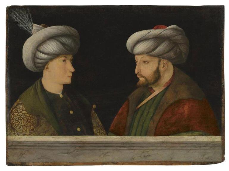 Londra'daki Müzayedede Fatih Sultan Mehmet'in portresi rekor fiyata İBB satın aldı