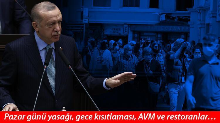 Maske şartı, sokak kısıtlaması gibi tedbirler esnetiliyor mu? Cumhurbaşkanı Erdoğan Açıkladı