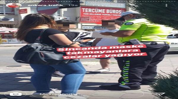 Maske Takmayanlar Dikkat! Bir Büyükşehirde Maske Takmayanlara 900 Lira Para Cezası Kesilmeye Başlandı