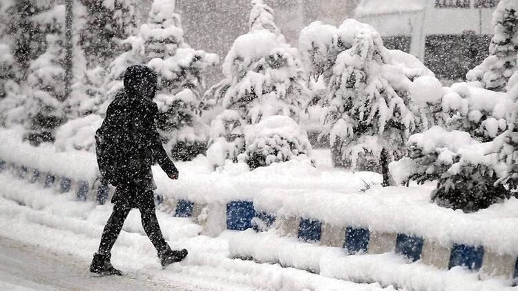Meteoroloji genel müdürlüğü bu illeri üst üste uyardı! Kuvvetli kar geliyor