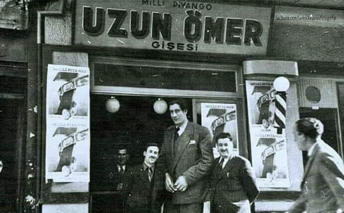 Milli Piyangocu Uzun Ömer - 1950'ler