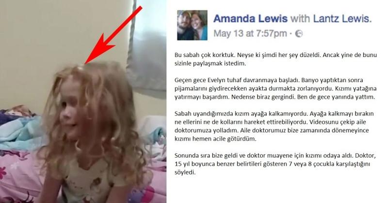 Sabah Uyandığında Kızı Hareket Edemiyordu – Kızının Saçını Tararken Gerçeğin Farkına Vardı