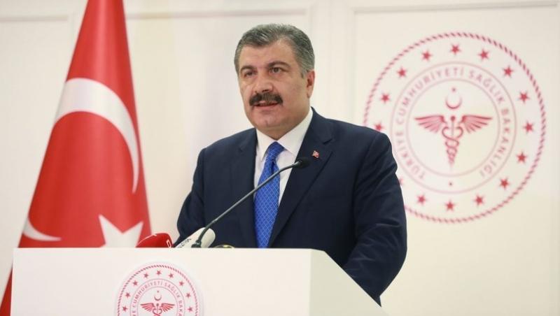 Sağlık Bakanı Fahrettin Koca Günlük Vaka Ve Ölü Sayısını Açıkladı