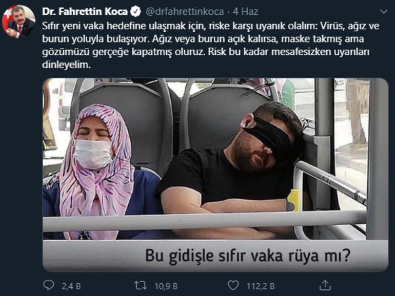 Sağlık Bakanı Fahrettin Koca'nın Fotoğrafını Paylaştığı Kişi Konuştu Ve Gerçekleri Anlattı