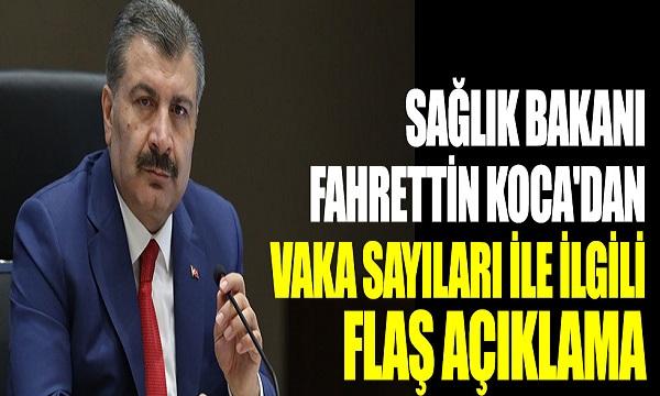 Sağlık Bakanı Fahrettin Koca Günlük Vaka Ve Ölü Sayısını Açıkladı: Korkutan Artış