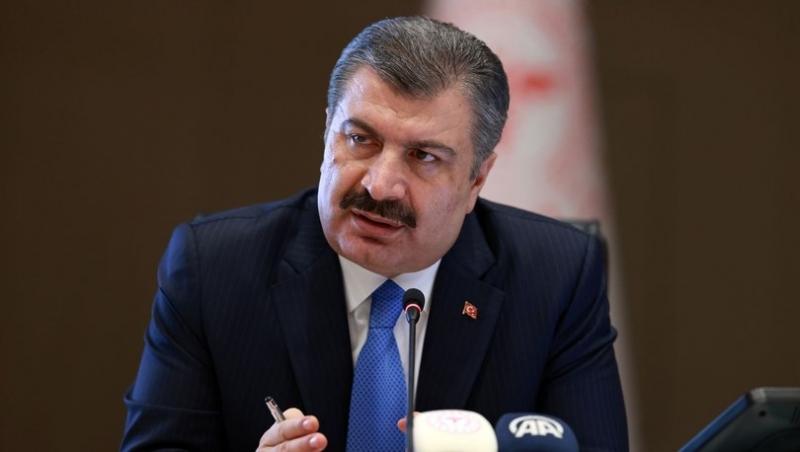 Sağlık Bakanı Fahrettin Koca Günlük Vaka Ve Ölü Sayısını Açıkladı: Korkutan artış halen devam ediyor