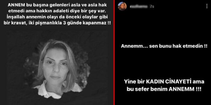 Sevgilisi Tarafında Vahşice Öldürülen Arzu Aygün'ün Kızından Yürekleri Dağlayan Paylaşım