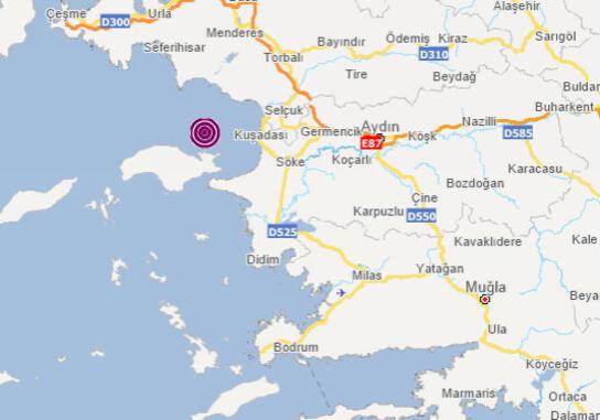 Son Dakika: İzmir Ve Çevresinde Hissedilen Kuşadası'nda Korkutan Deprem