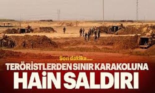 Son Dakika: PKK'lı Teröristler Sınır Karakoluna Roketle Saldırdı, Çok Sayıda Askerimiz Yaralandı