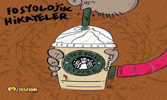 """Starbucks'ta sıra beklerken gelen """"Ne kadar da zengin ve elitim aman ya rabbim, resmen sıradayım ve param var!"""