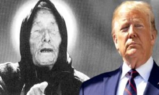 Trump'ın Coronaya Yakalanacağını Bilen Baba Vanga'nın Tüyler Ürperten Yeni Kehanet!!