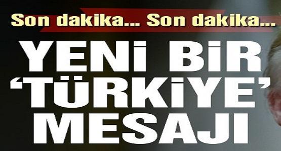 Trump'tan Türkiye İçin Yeni Mesaj