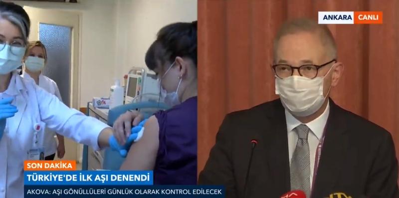 Türkiye'de ilk aşı denendi! Yan etkileri ortaya çıktı