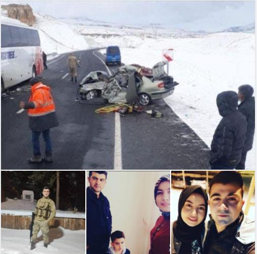 Uzman Çavuş ve Ailesi Hayatını Kaybetti: Yaşanan Korkunç Kazada Bir Aile Yok Oldu.