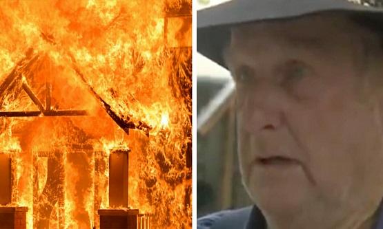 Yangın Esnasında Eşi Ve Torunu Evin İçinde Kaldı, Son Saniyelerinde Telefonla Konuşarak Karşılıklı Ağladılar