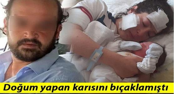 Yeni Doğum Yapan Karısını Hastane Odasında Bıçaklayan Zanlıdan Şoke Eden Savunma