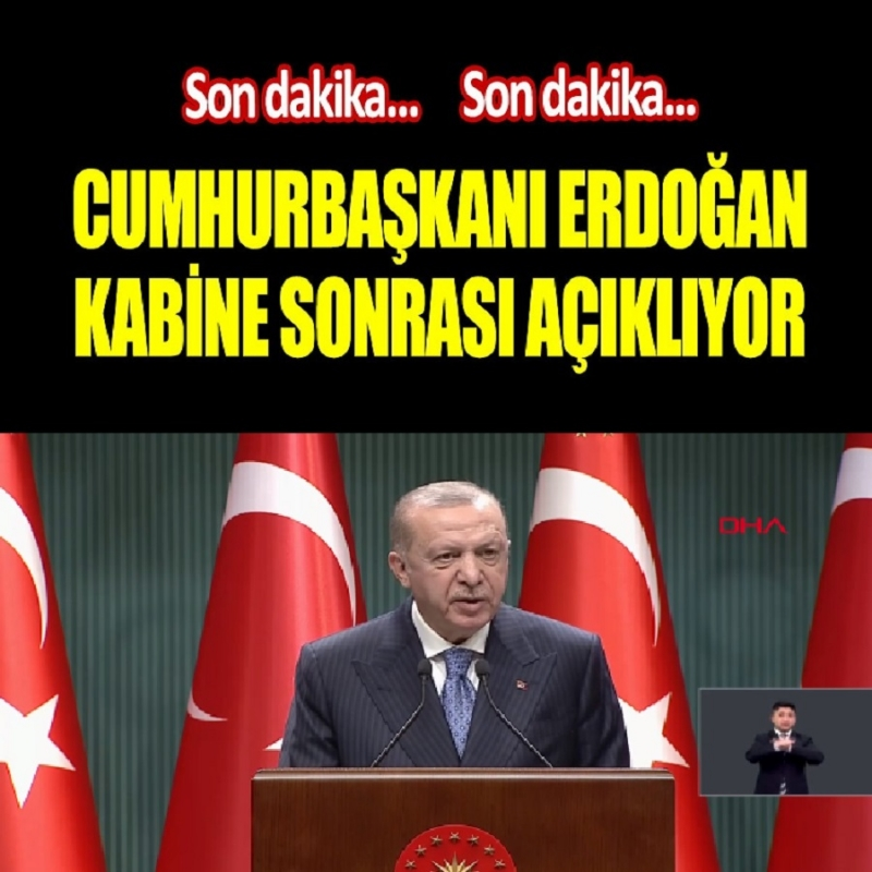 Yeni Yasaklar Ve Kısıtlamalar Tekrar mı Geliyor? Kabine Toplantısı Sonrası Cumhurbaşkanı Erdoğan Açıkladı