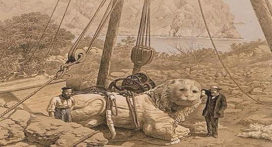 """Yıl 1857 idi. Knidos açıklarına İngiliz Kraliyet Donanmasının """"Supply"""" isimli bir savaş gemisi demir attı."""